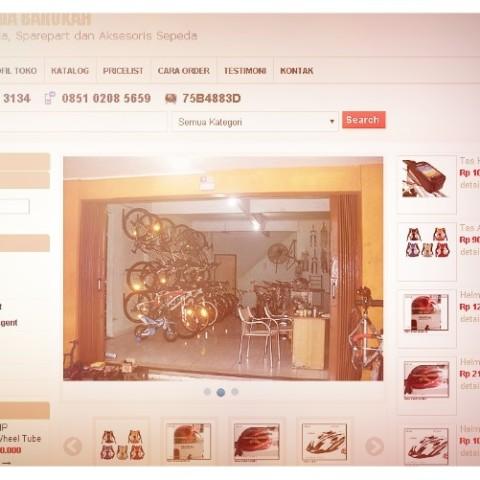 Web Toko Online Sepeda