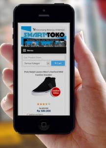 Toko Online dengan Responsive Theme