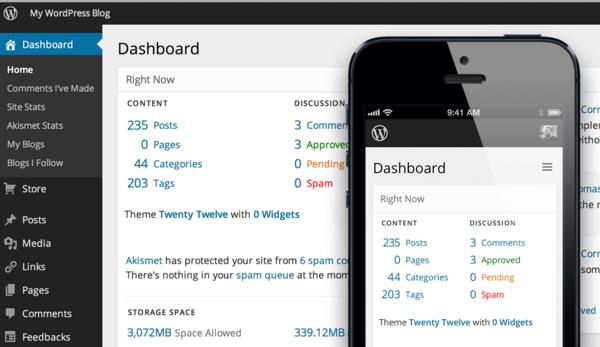 dashboard toko online