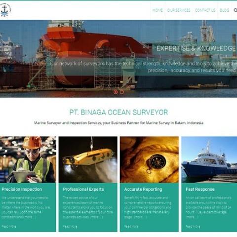 Web Perusahaan Marine Surveyor