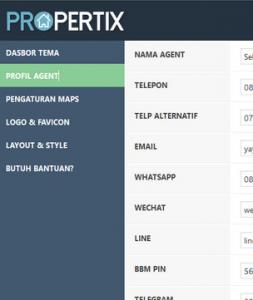 jasa bikin web agen property