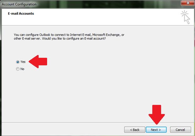 Cara Konfigurasi Email pada Microsoft Outlook
