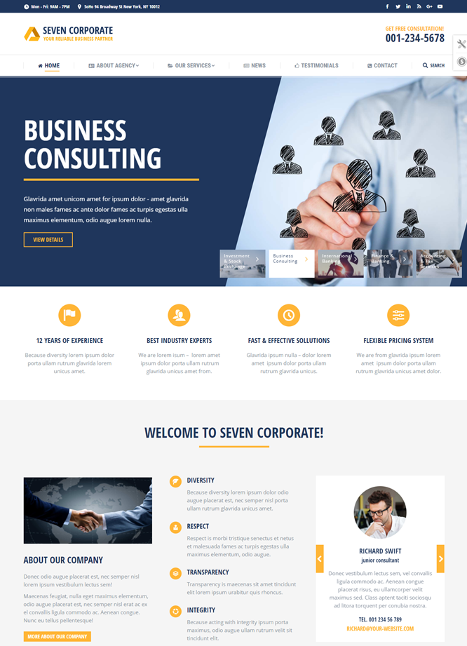jasa website company profile