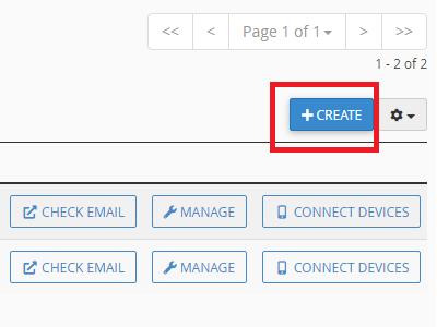 cara create akun email domain